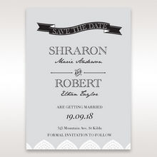 White Everly - Save the Date - Wedding Stationery - 71