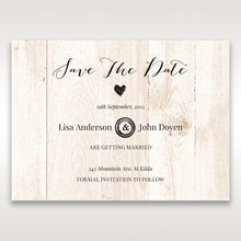 Brown Rustic Woodlands - Save the Date - Wedding Stationery - 72