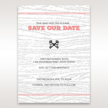 Brown Eternity - Save the Date - Wedding Stationery - 73