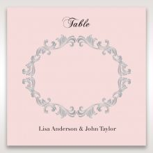 Silvery_Charisma-Table_card-in_Pink