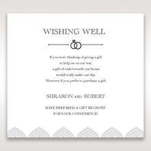 White Everly - Wishing Well / Gift Registry - Wedding Stationery - 70