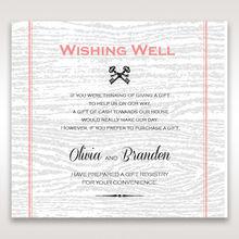 Brown Eternity - Wishing Well / Gift Registry - Wedding Stationery - 72