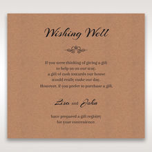 Brown Countryside Chic - Wishing Well / Gift Registry - Wedding Stationery - 35