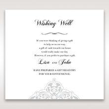 White An Elegant Beginning - Wishing Well / Gift Registry - Wedding Stationery - 87