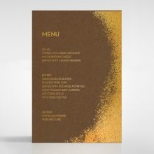 Dusted Glamour menu card DM116098-NC-GG