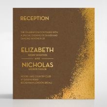 Dusted Glamour reception card DC116098-NC-GG