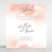 Dusty Rose reception card DC116125-YW