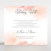 Dusty Rose wishing well card DW116125-YW