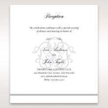 Elegant Seal reception card DC14503