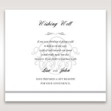Elegant Seal wishing well card DW14503