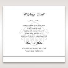 Elegant Seal wishing well card DW14503