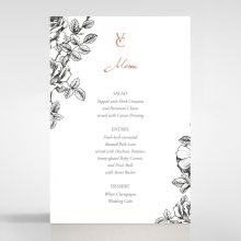 English Rose menu card DM116108-PK