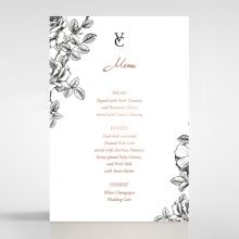 English Rose menu card DM116108-TR-RG