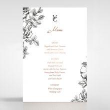 English Rose menu card DM116108-TR-RG