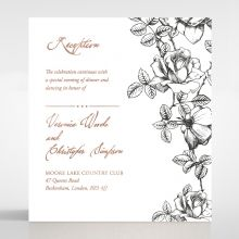 English Rose reception card DC116108-TR-RG