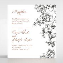 English Rose reception card DC116108-TR-RG