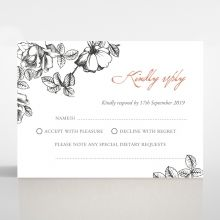 English Rose rsvp card DV116108-PK