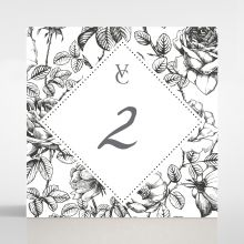 English Rose table number card DT116108-PK