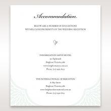 Framed Elegance accommodation card DA15104