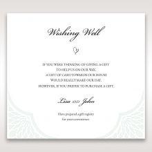 Framed Elegance wishing well card DW15104