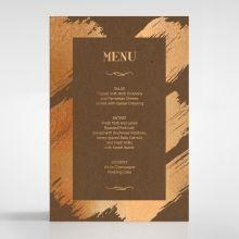 Gilded Stroke menu card DM116091-NC-MG
