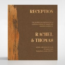 Gilded Stroke reception card DC116091-NC-MG