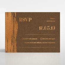 Gilded Stroke rsvp card DV116091-NC-MG
