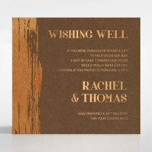 Gilded Stroke wishing well card DW116091-NC-MG