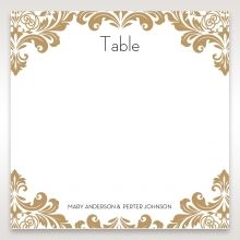 Golden Antique Pocket table number DT11090