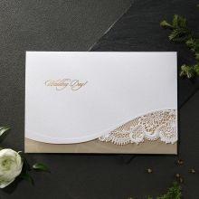Golden Classic wedding invitations X11120