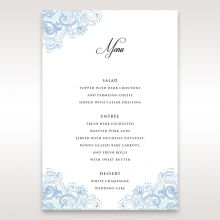 Graceful Wreath Pocket menu card DM11128