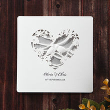 Silver/Gray Natural Charm - Wedding invitation - 6