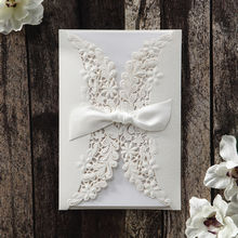 White Everlasting Love - Wedding invitation - 22