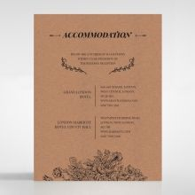 Hand Delivery accommodation card DA116063-NC