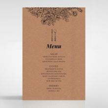 Hand Delivery menu card DM116063-NC