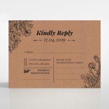 Hand Delivery rsvp card DV116063-NC
