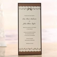Shimmering Gold Floral Chains - Engagement Party Invitations - BH1539-E - 49214