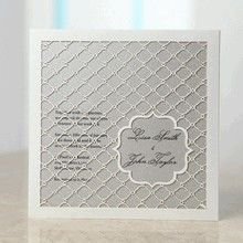 Eastern Magic Laser Cut Pocket - Wedding Invitations - BH3622 - 29962