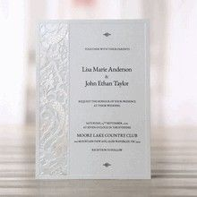 Elegant Laser Cut - Engagement Party Invitations - BH1644-E - 49635