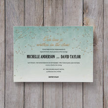 Green A Sky Full of Stars - Wedding invitation - 40