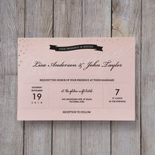 Pink Delightful Gold Dots - Wedding invitation - 41