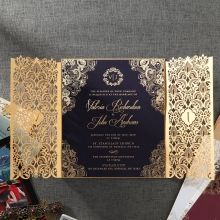 Imperial Glamour engagement invitations PWI116022-NV-E