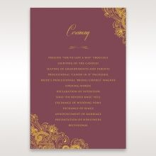 Imperial Glamour with Foil order of service DG116022-MS-F