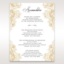 Imperial Glamour without Foil accommodation card DA116022-DG