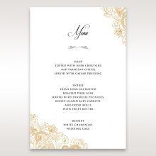 Imperial Glamour without Foil menu card DM116022-DG