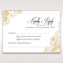 Imperial Glamour without Foil rsvp card DV116022-DG