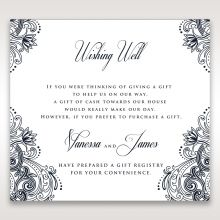 Imperial Glamour without Foil wishing well card DW116022-NV-D