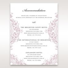 Jewelled Elegance accommodation card DA11591