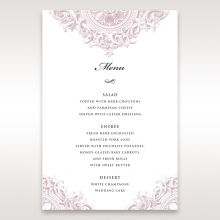 Jewelled Elegance menu card DM11591