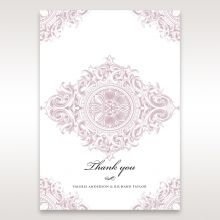 Jewelled Elegance thank you card DY11591